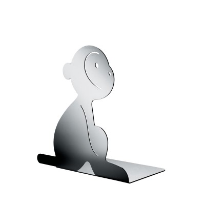 A di Alessi Lola (Monkey) Bookend - Mirror Polished Finish