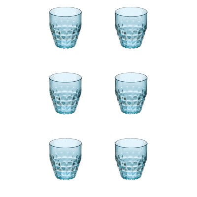 Guzzini Tiffany Low Plastic Tumblers (Set of 6 - Same Colour) (350ml)