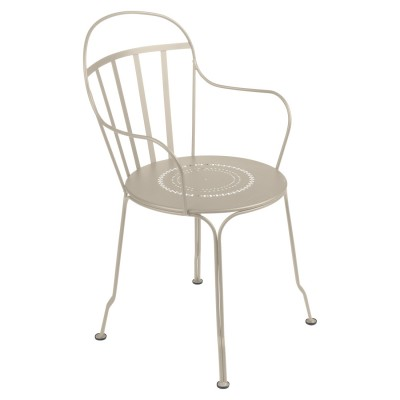 Fermob Louvre Armchair (Stacking) - Suitable for Outdoor Dining