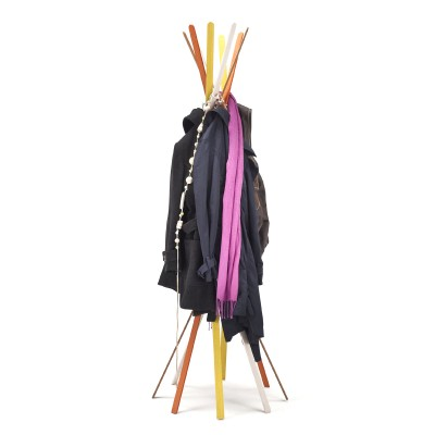 Twist Coat Stand By Horm Casamania 40 Natural Beech Strips Beauteous Twist Coat Rack