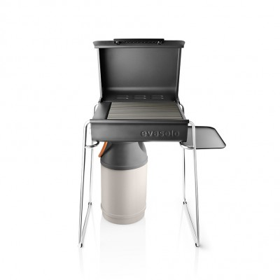Eva Solo Box Gas Grill Legs & Side Table - Stainless Steel