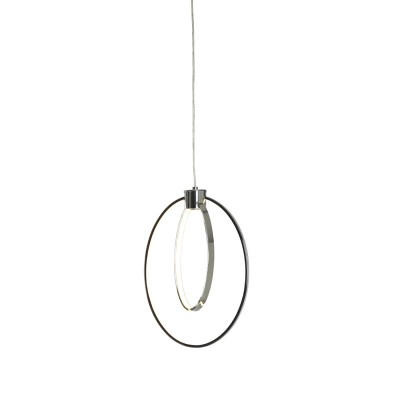 Danalight DUO Pendant Light in Chrome Finish (Dimmer Switch)