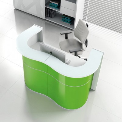 MDD Wave Reception Counter Desk Only £1844+VAT