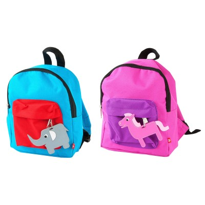 Present Time J.I.P. Childrens Backpack - Zoo Animal Design
