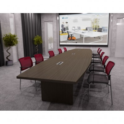 MDD MITO Conference Table (3 Pieces) by Simone Bernocchi