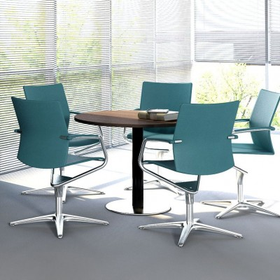 MDD MITO Round Meeting Table | Designed by Simone Bernocchi