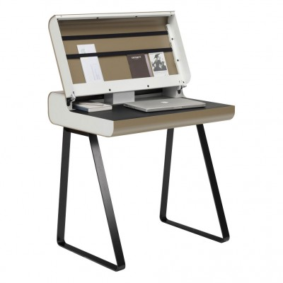 Muller Home Office Desk & Secretary Table with lid